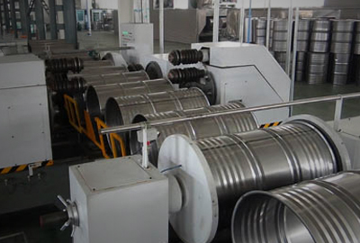 Steel Drum Production as a Production Line