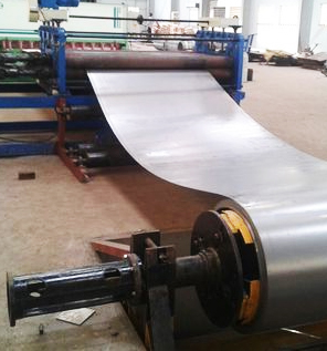Cut to Length Line Process for Steel Drum