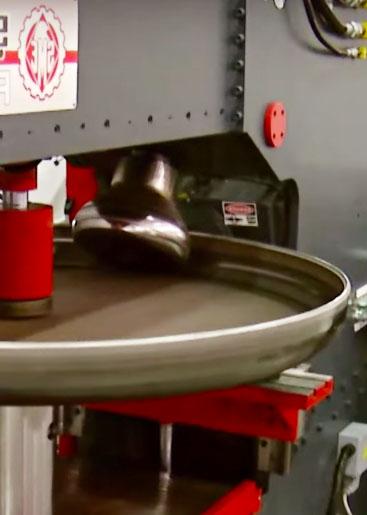 Steel Drum Production Line Flanges Machine