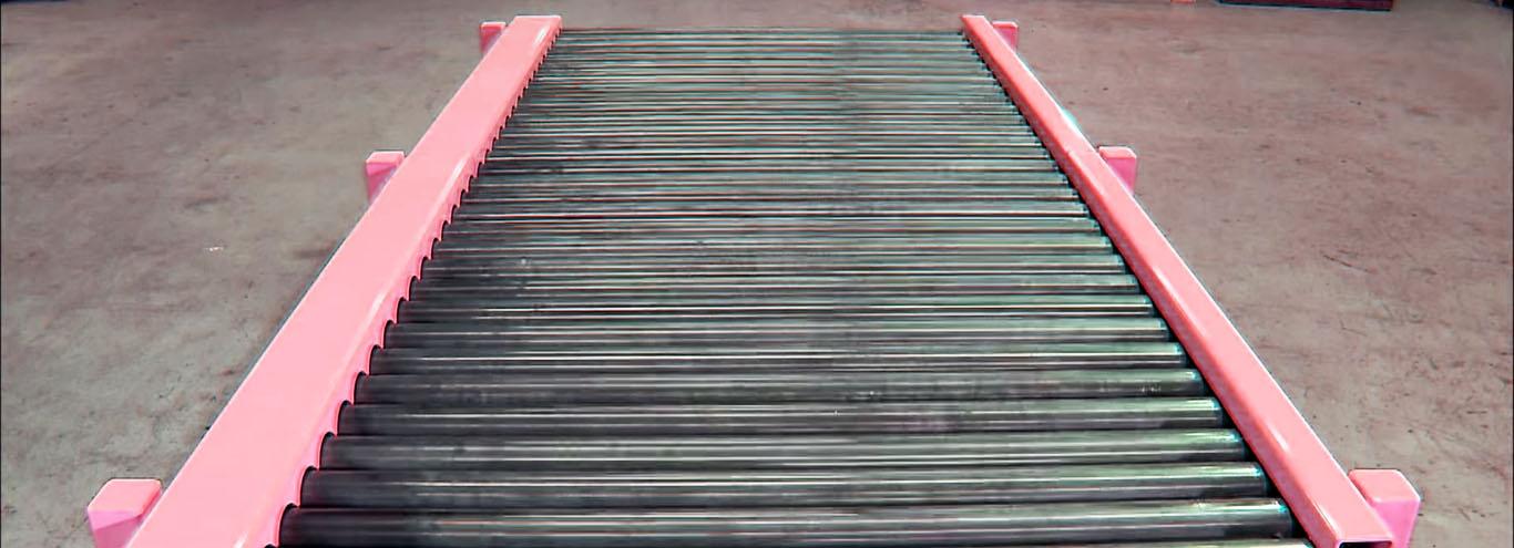Transfer Conveyor for Steel Drum